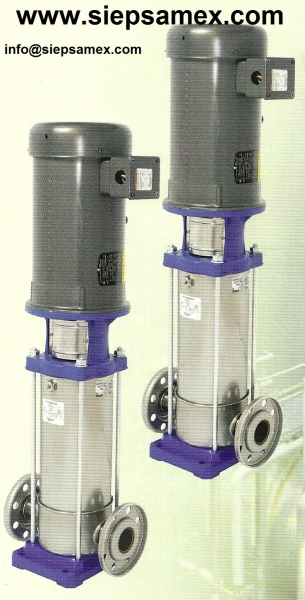 Bomba Multietapas Vertical Industrial A2X50-16